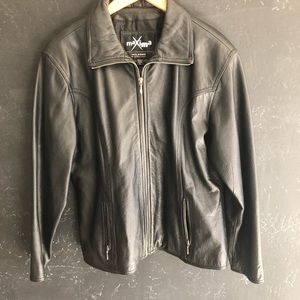 Vintage Leather Jacket XL